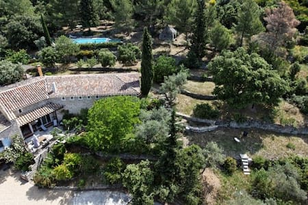 Charm'In Provence Charming house with warmed pool - Saumane-de-Vaucluse - Haus