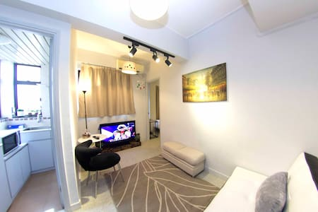 T01. 4pax TST MTR COZY Apartment - Hong Kong Tsim Sha Tsui - Apartment