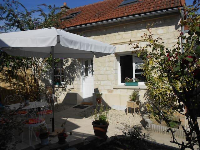 maison sympa proche commerces - Soissons - Rumah