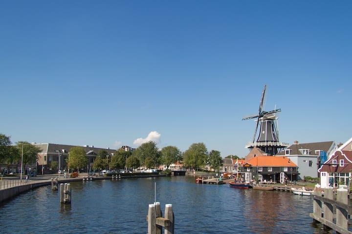 Romantische etage aan het Spaarne - Haarlem