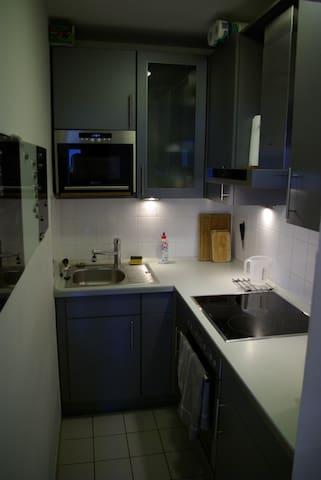 Kitchen (Coffeemachine not shown)