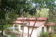 2 Bedroom - 2 Bath Home with tropical garden and pool.