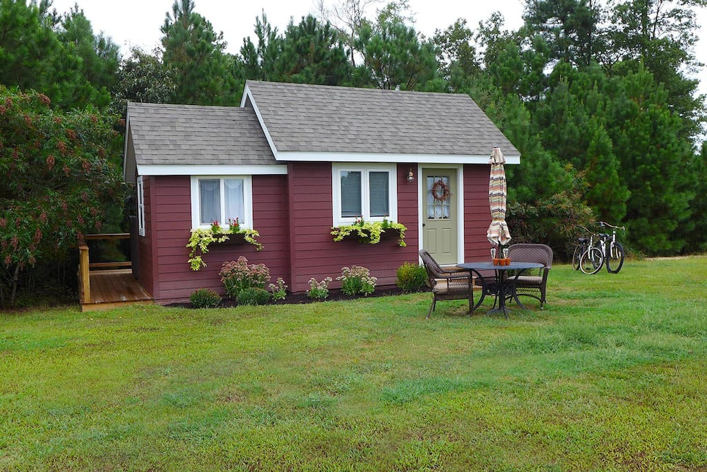 little red house eastern shore va guesthouse for rent