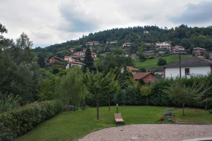 Nella verde collina di Torino