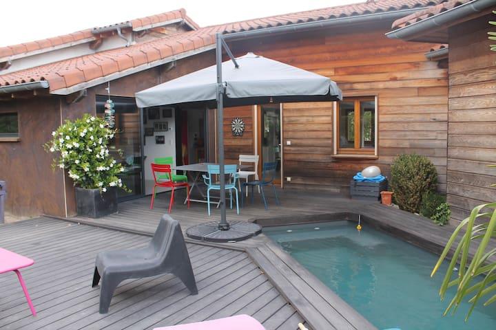 Maison de charme en bois - Viriat - Rumah
