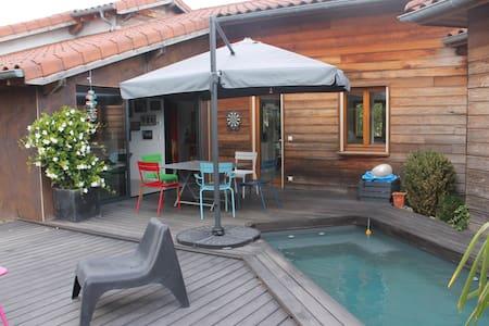 Maison de charme en bois - Viriat - Dům