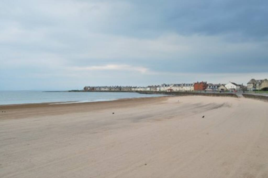 One of Troon beaches