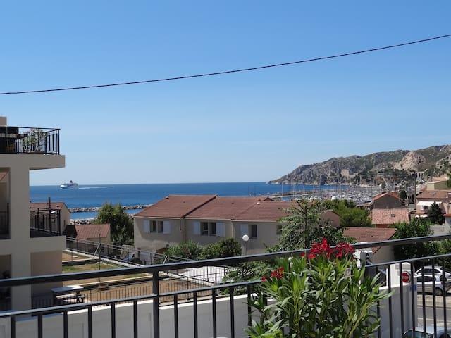 L'ESTAQUE - Les terrasses de la Mer - Marseille - Lägenhet
