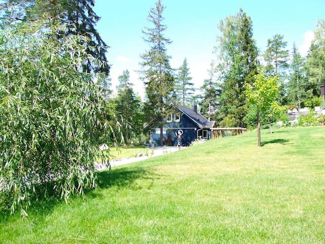 Stockholm Archipelago forest villa