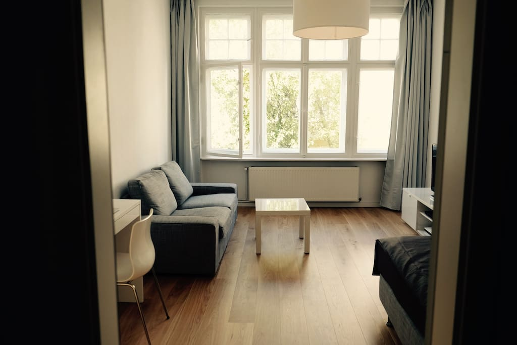 fully furnished apartment in fhain apartments for rent in berlin berlin germany. Black Bedroom Furniture Sets. Home Design Ideas