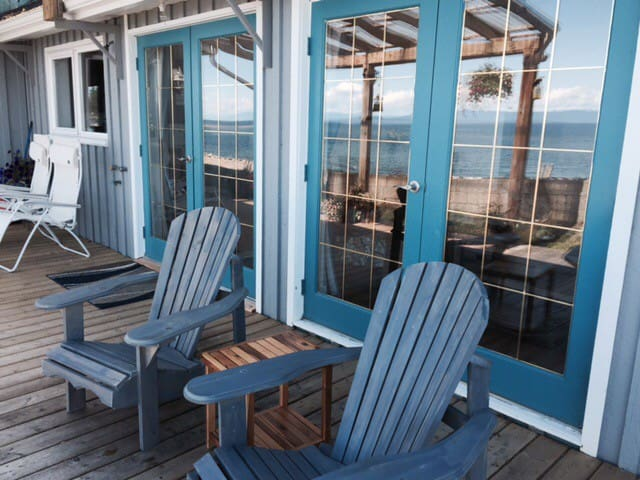 Oceanfront suite with 180 view - Qualicum Beach - Casa