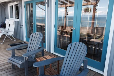 Oceanfront suite with 180 view - Qualicum Beach - Rumah