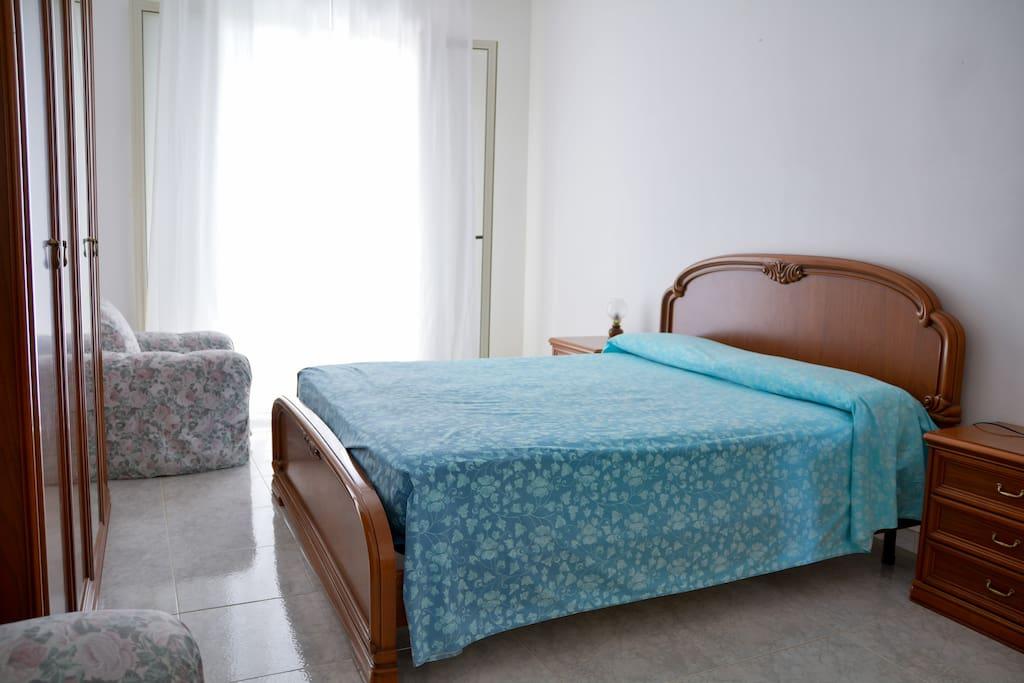 Camera da letto matrimoniale piano rialzato 1