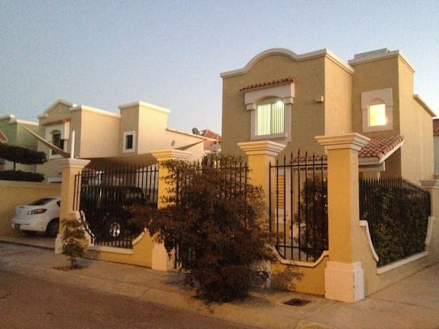 House inside a private community