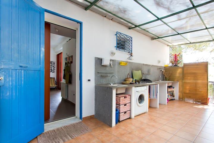 villa ampie terrazze panoramiche - Palermo - Villa