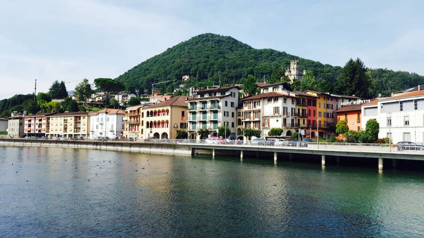 New Beautiful Apartment near Lugano - Ponte Tresa - Huoneisto