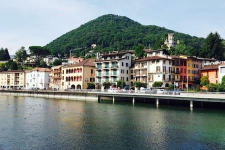 New Beautiful Apartment near Lugano - Ponte Tresa