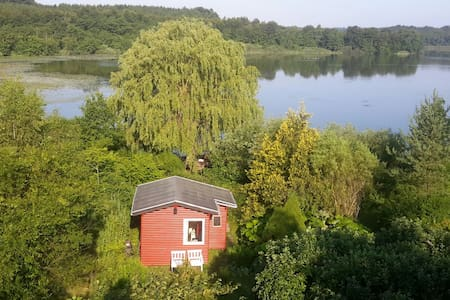 Primitive cottage right by the lake - Jyderup - Wikt i opierunek