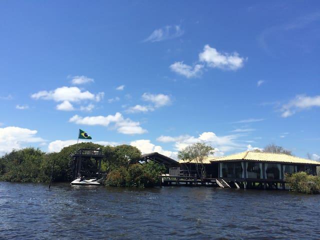 Pantanal - Mato Grosso - Brasil - MT BR - Paradise - Barão de Melgaço - Casa