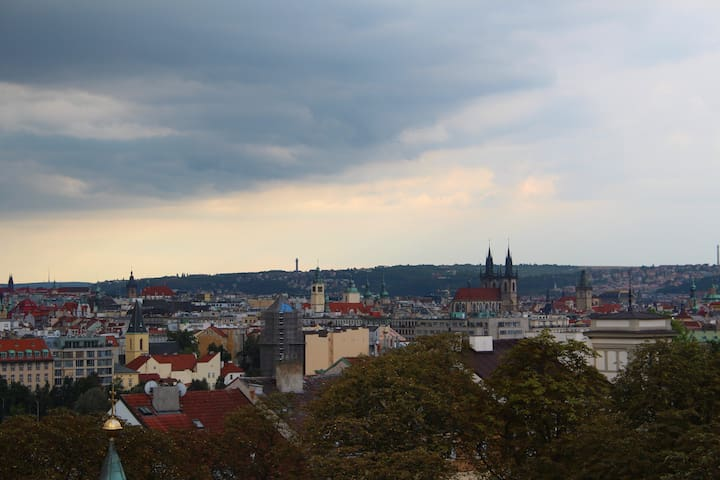 APT. @@ VIEW of Prague @@ - Prag - Daire