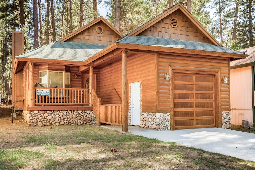 4b indoor hot tub 1mile bear mtn cabins for rent in for Cabins for rent in big bear lake ca