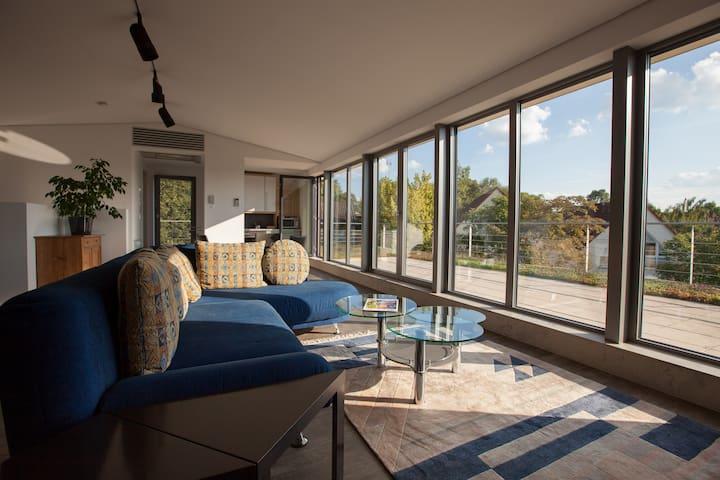 Designer Penthouse mit Aussicht