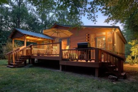 Room type: Entire home/apt Bed type: Real Bed Property type: Cabin Accommodates: 4 Bedrooms: 1 Bathrooms: 2