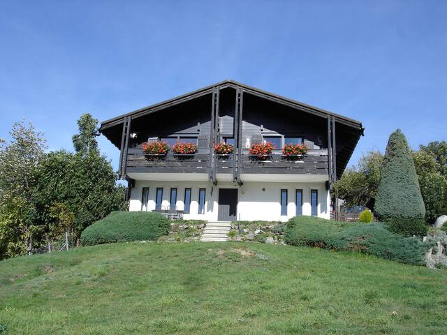 Chalet with a breath-taking view! - Fiesch - Chalupa