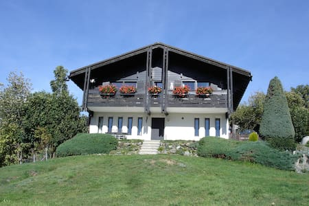 Chalet with a breath-taking view! - Fiesch