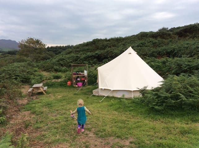 Beautiful Bell Tent Hideaway - Clynnog-fawr - Barraca