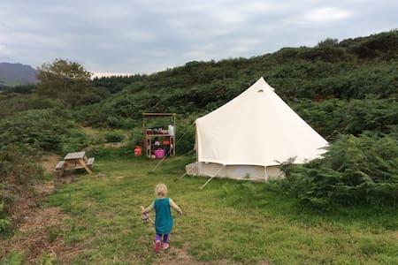 Beautiful Bell Tent Hideaway - Clynnog-fawr