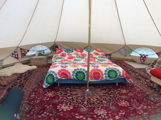 Beautiful Bell Tent Hideaway - Clynnog-fawr - Tent