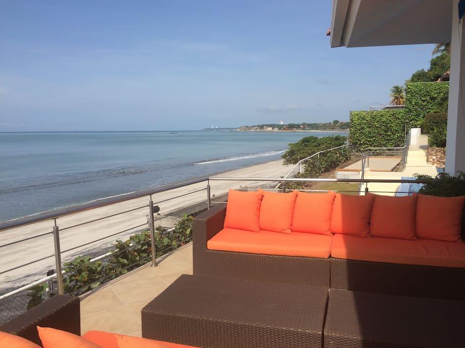 Pool House Beach Balcony