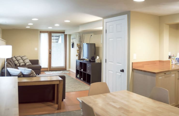 1 bed Apt • street level • PRIVATE - Portland - Daire