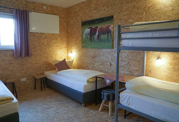 Vierbettzimmer Freizeitreitstall Schammelsdorf