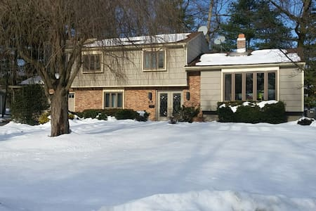 Entire House, 4BR, 20miles to NYC - Livingston