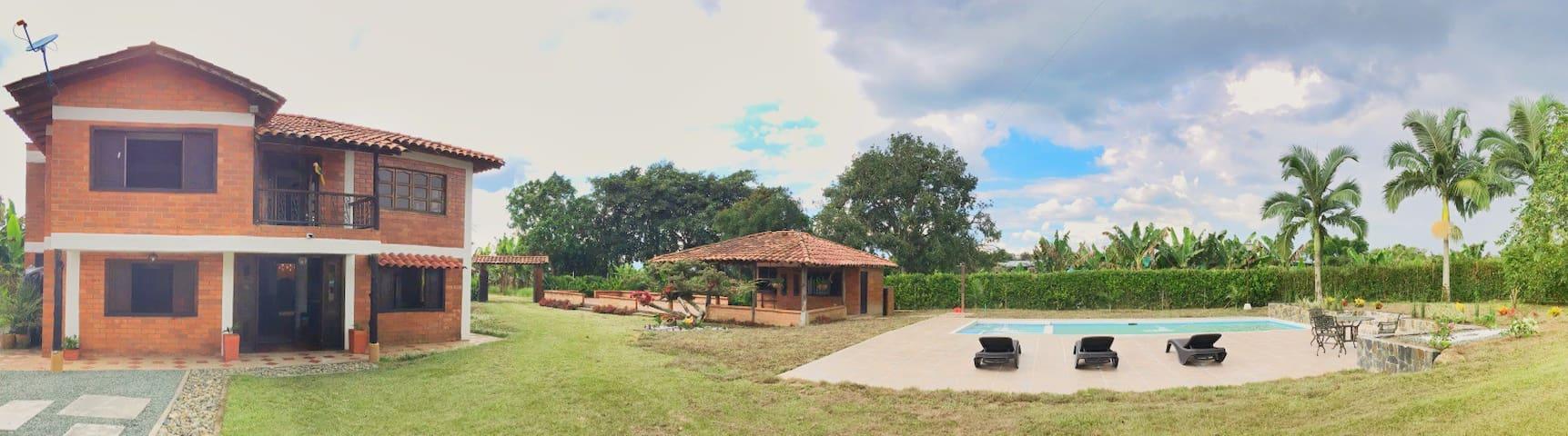 Tierra Labrantia Finca Campestre - Quimbaya - 自然小屋