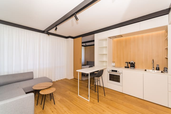 Warm and Cozy apartment with one double bed