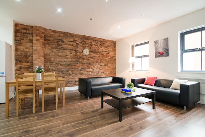 3 Bed City Centre Duplex Apartment - Manchester