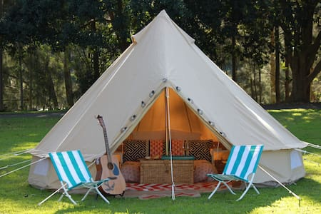 Glamping - 4 Metre Bell Tent - Royal National Park - 帳篷