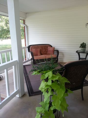 Take an R&R on the front porch!