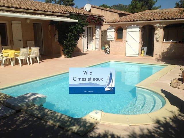 """Villa """"Cimes et eaux"""" Sainte Lucie - sainte-Lucie de Porto-Vecchio - Huis"""