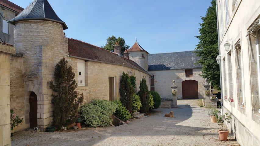 Manoir de l'Echauguette - Quadruple avec Terrasse
