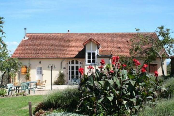 Chambres et table d'hôtes Huspoil - La Comelle - Szoba reggelivel