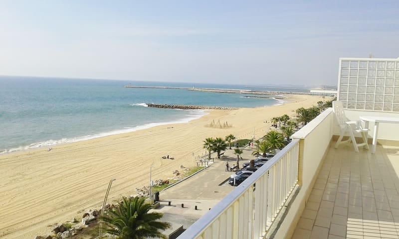 AMAZING BEACH FRONT APARTMENT - Quarteira - Pis