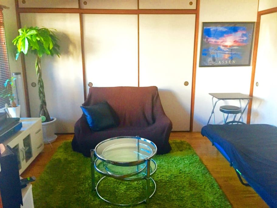 Green Relaxation Room