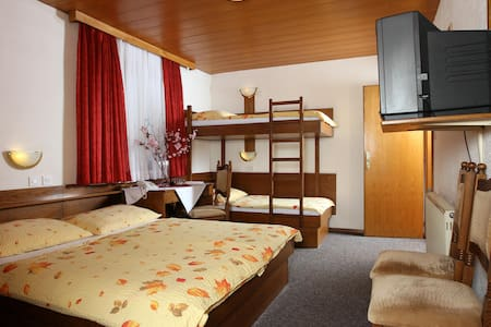 Private quad room*** 2, free parking, free wifi - Medvode