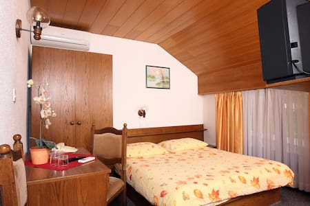 Private single room***, free parking, free wifi - Medvode - Oda + Kahvaltı