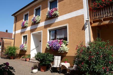 Gästezimmer für 2 mit eigenem Bad - Laumersheim - Oda + Kahvaltı