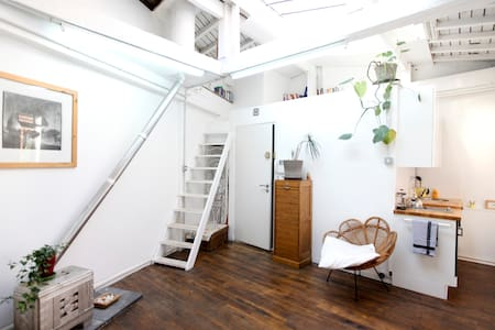 Tranquil loft with skylights! - Paris